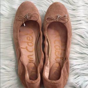 Sam Edelman Felicia ballet flats 11M tan leather